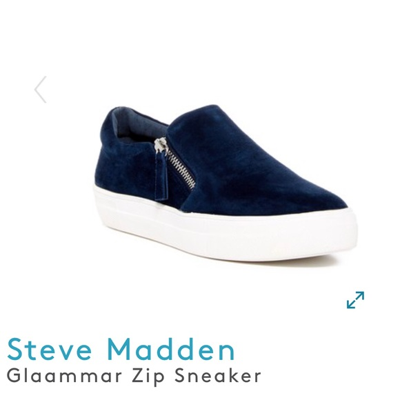 4e666f0c91d Steve Madden Glaammar zip sneaker- pull on